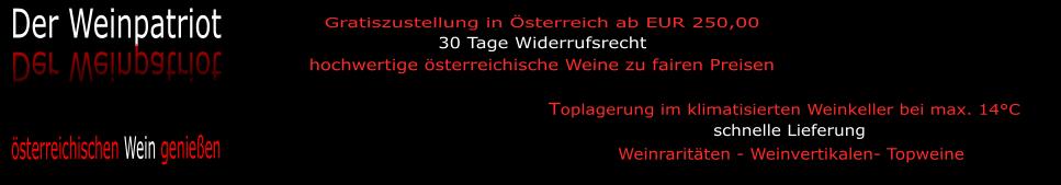 Der Weinpatriot - österreichische Weinraritäten und Weinvertikalen-Logo